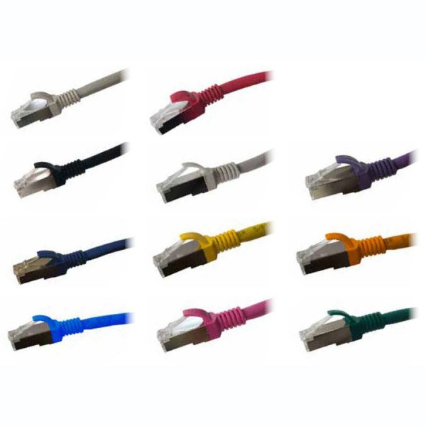 Ultima Cat6A S/FTP Patch Leads logo