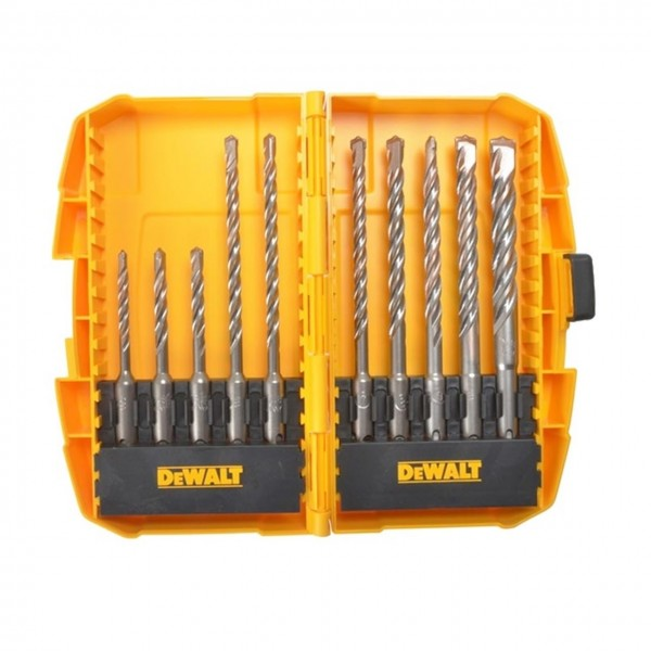 DeWalt SDS Plus 10pc Masonry Drill Bit Set logo