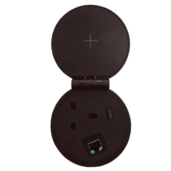 Ultima In Desk Grommet Size Charging Points logo
