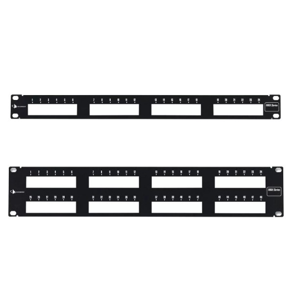 Siemon MAX Series Unloaded Patch Panels logo