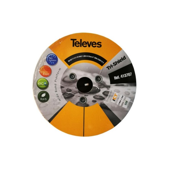 Televes SK110+ (CT100 Equivalent) Coax Cable logo