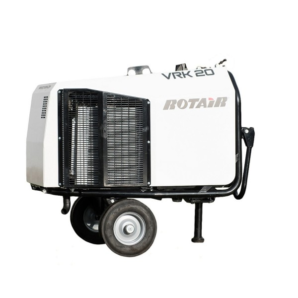 Rotair VRK20 Cable Blowing Machine Compressor logo