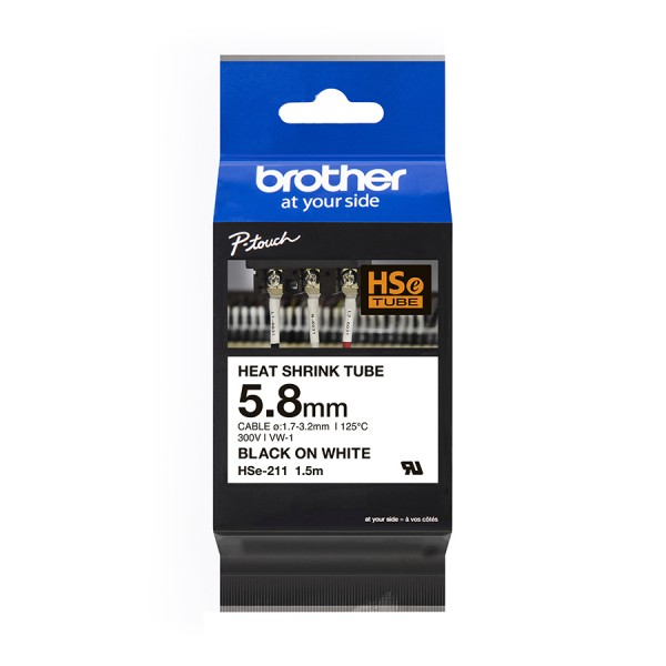 Brother P-Touch Heat Shrink Tube logo