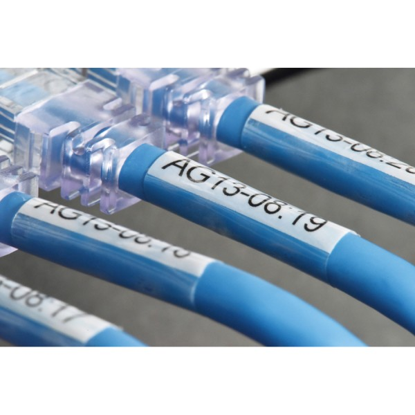 Brother P-Touch TZe Self-Laminating Cable Labels logo