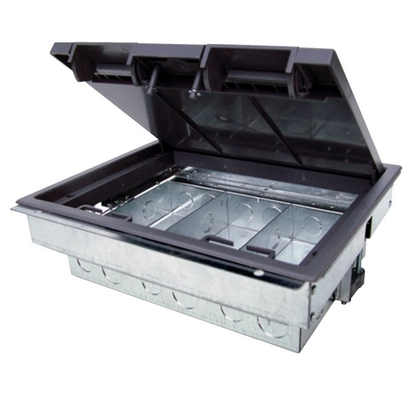 Ultima 3 Way Floor Box (Compact)