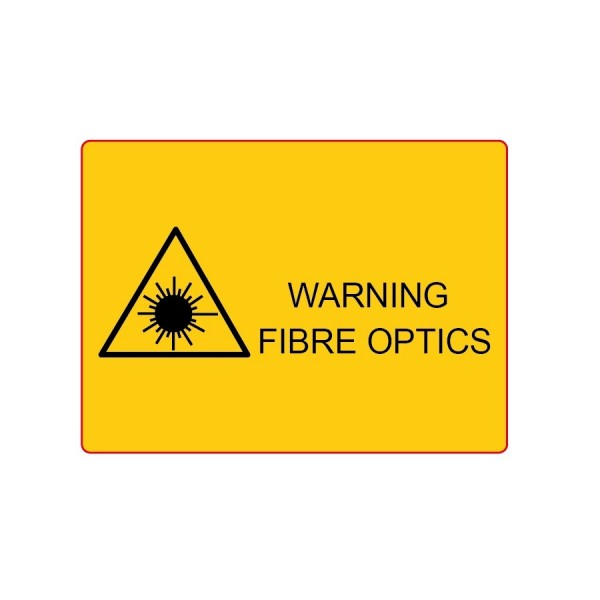 Ultima Fibre Laser Warning Label