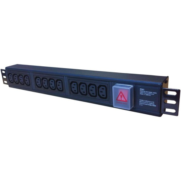 Ultima 32A BS4343 Plug (Commando) IEC C13 Socket PDU