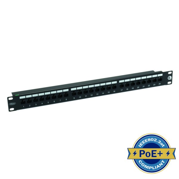 Ultima Cat6 Right Angle Patch Panels