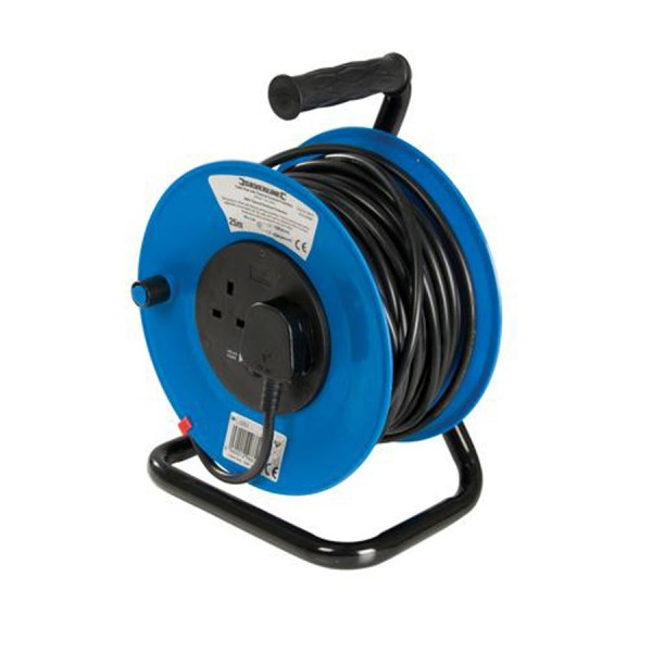Industrial Cable Reels with Thermal Overload Protection