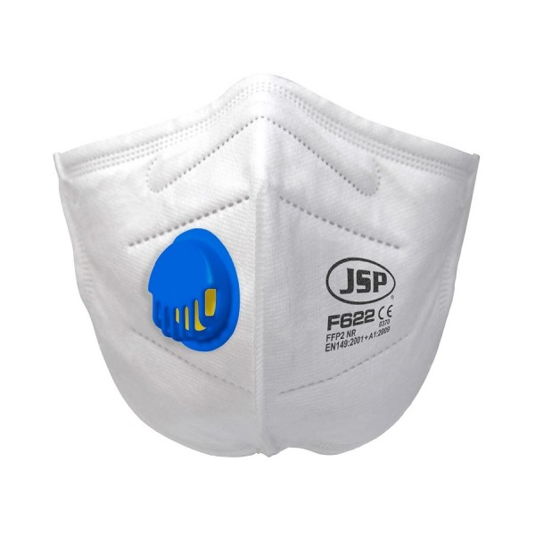 Valved Fold Flat Dust Mask