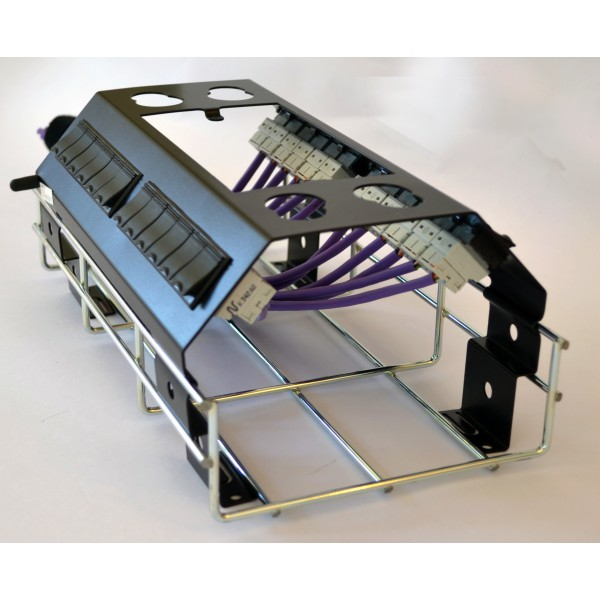 XSpace Combination Flexible Patch Panel With Conduit Entry