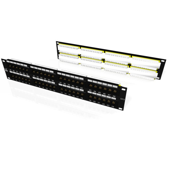 Draka UC-Connect Cat5e Rear Punch Patch Panels