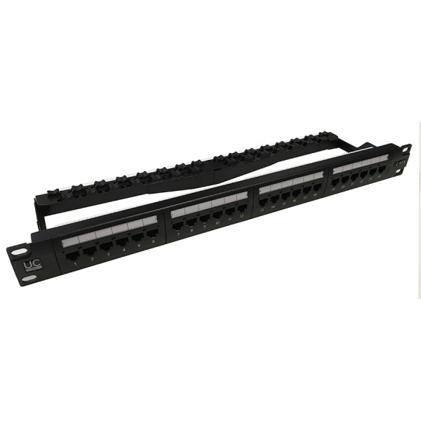 Draka UC-Connect Cat6 Rear Punch Patch Panels