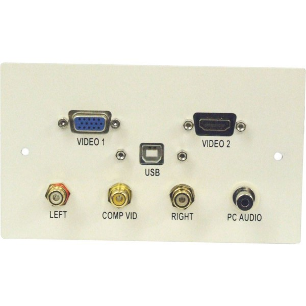 Ultima AV Outlet Faceplates