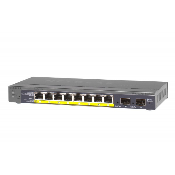 Netgear GS Series Unmanaged Gigabit PoE Switches
