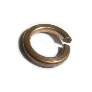 Washer Spring Single Coil M6 Phos Bronze