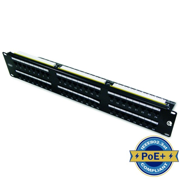Ultima Cat6 Rear Punch Patch Panels