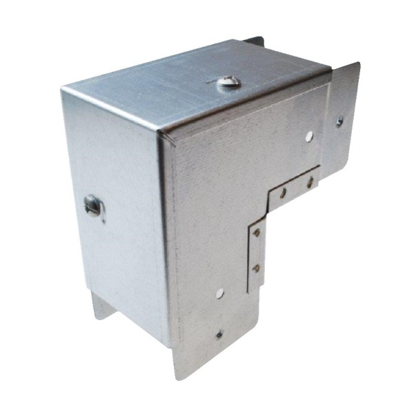 Armorduct Steel Trunking Square Bends - Outside Lid
