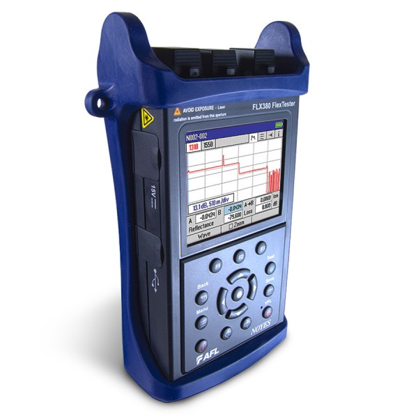 AFL FL380 FlexTester High Performance OTDR/Multifunction Tester