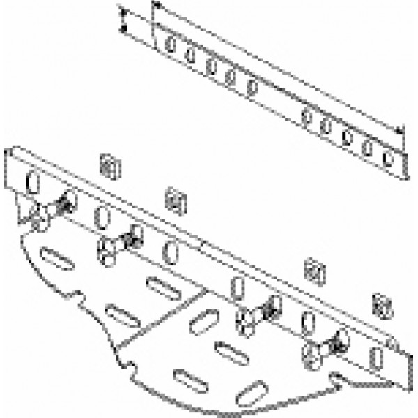 Unistrut Cable Tray Couplers