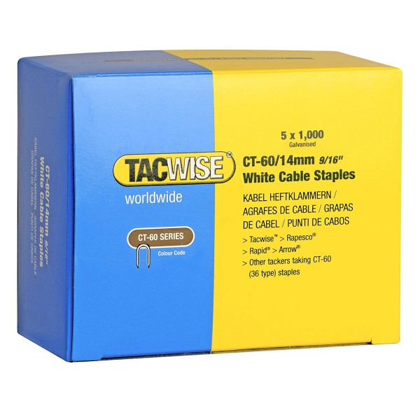 Tacwise CT60 Staples