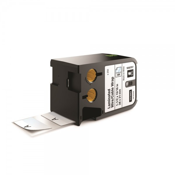 DYMO XTL Laminated Wire/Cable Wrap Labels