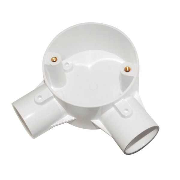 Schneider Circular Junction Boxes - Angle