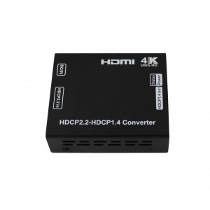 HDCP V2.2 to V1.4 Convertor 1 x HDMI Input 1 x HDMI Output Allows the use of Sky Q with older TV's