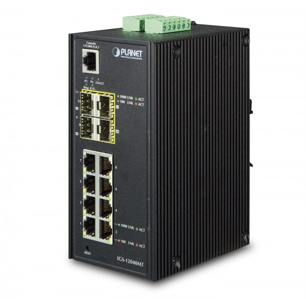 Planet Industrial Gigabit Switches
