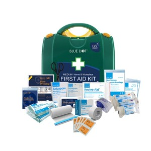 First Aid Kit BSI Compliant Medium Home & Workplace