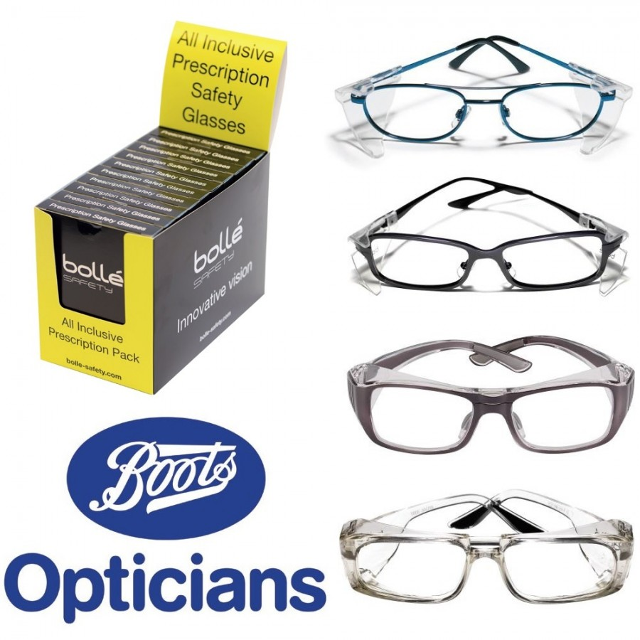 31f7b9e7b9 Bolle Prescription Safety Glasses - Comtec Direct