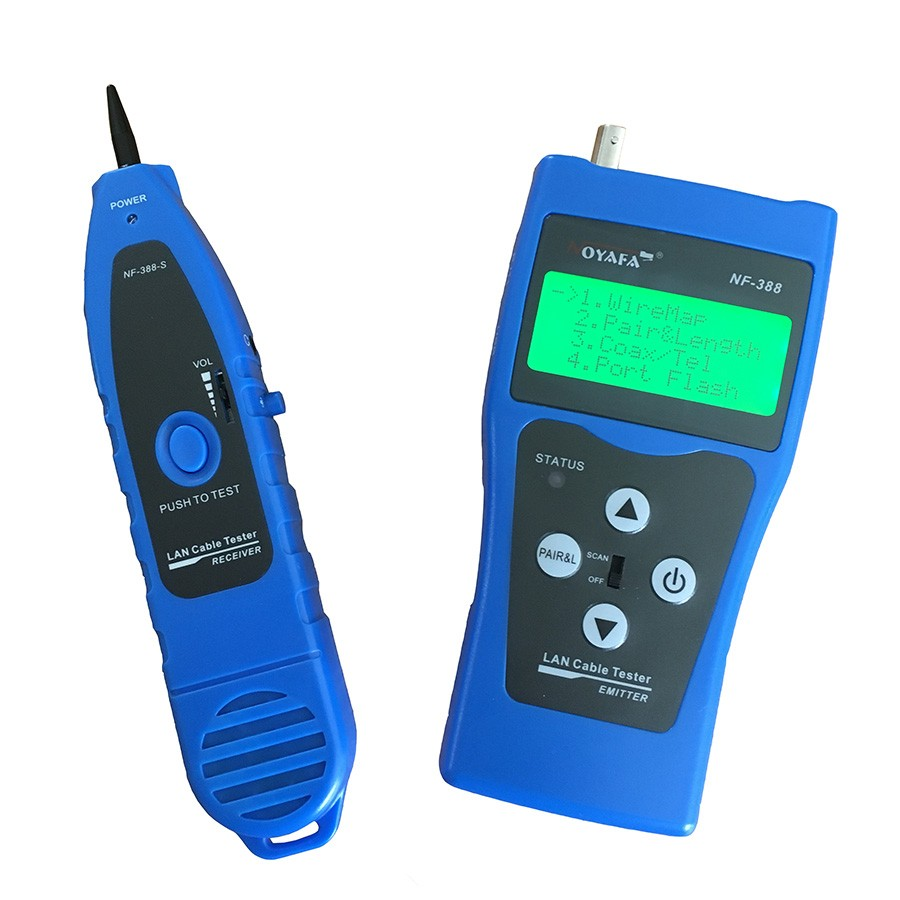 Twisted Pair  U0026 Coax Cable Tester