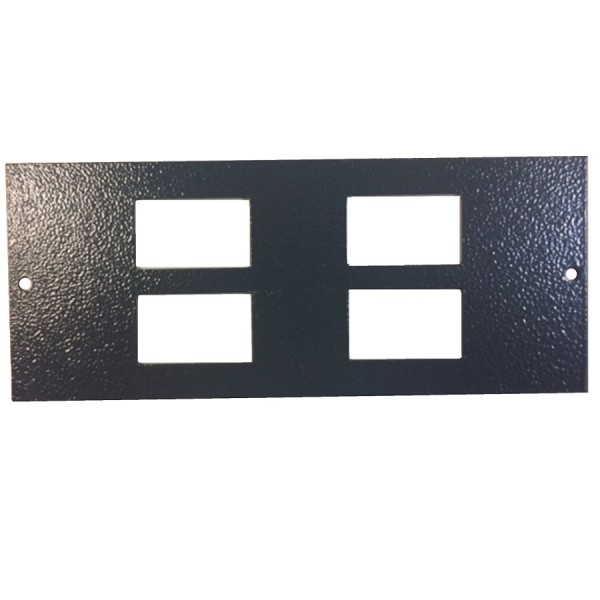 Ultima 3 Way Floor Box (Compact) Accessory Plates