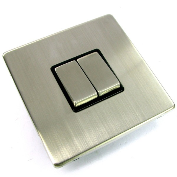 Scolmore Screwless Light Switches
