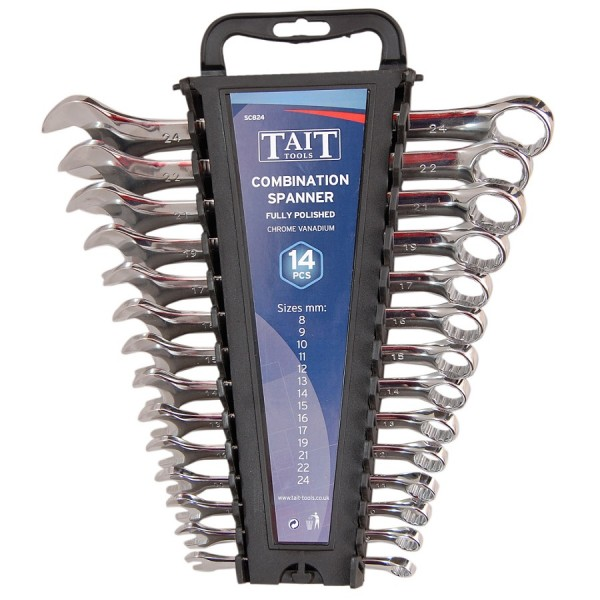 Tait Tools Combination Spanner Sets