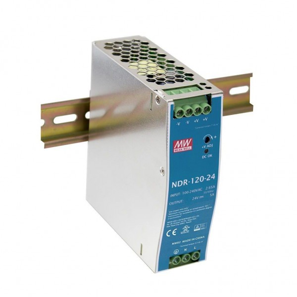 Din-Rail Industrial Power Supplies