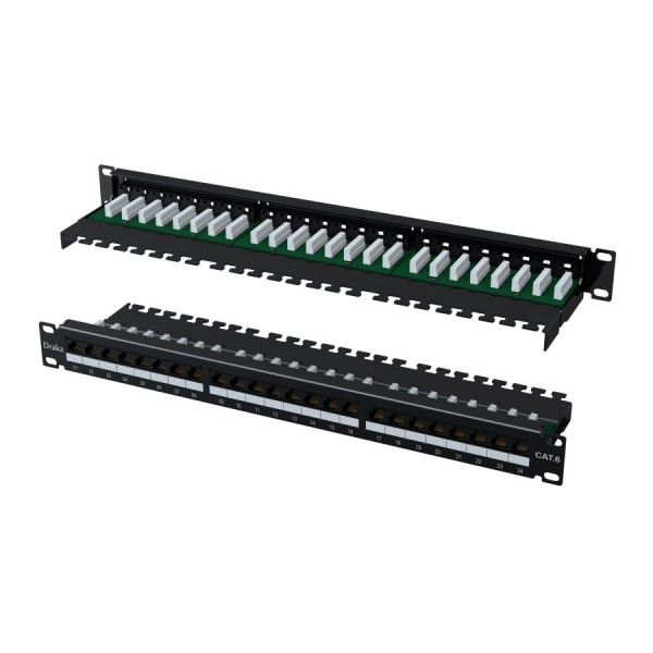 Draka Cat6 Right Angle Patch Panels