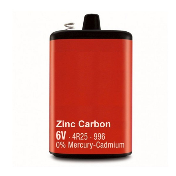 Ultima 6V Zinc Carbon Battery