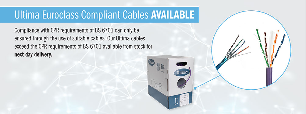 comtec direct suppliers of data cabinets data cable rj45 patch ultima cpr compliant cables