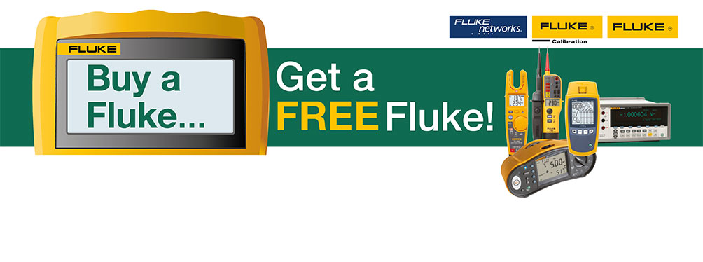 Get your hands on a FREE gift from Fluke!