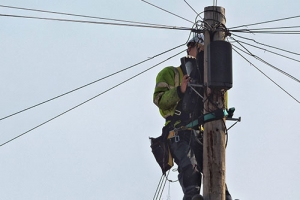 Solutions update for capacity problems on poles for FTTP deployments