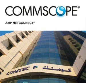 CommScope's AMP NETCONNECT products now in Comtec Qatar
