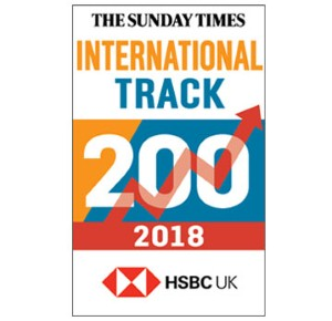 Comtec Ranks 94th in the Sunday Times International Track 200