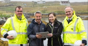 Fibre broadband brought to two of the UK's remotest communities