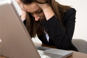 Internet failures causing emotional reactions among workers