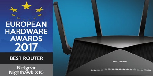 EHA votes Netgear Nighthawk best router for second year